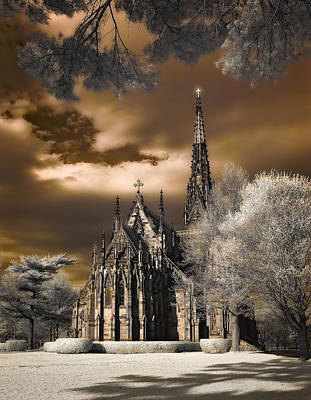 Garden City Cathedral Art Print