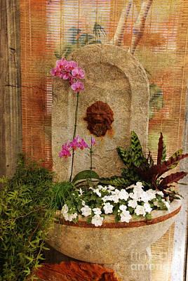 Garden Deco Art Print