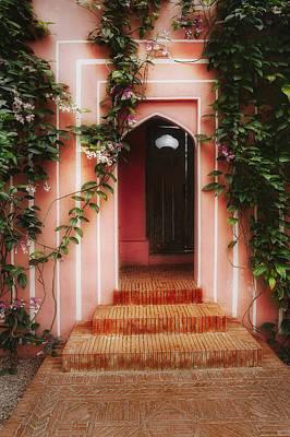 Duke Gardens Photograph - Garden Door by George Oze