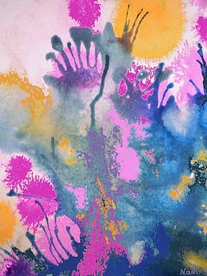 Painting - Garden Fantastico by Renate Nadi Wesley