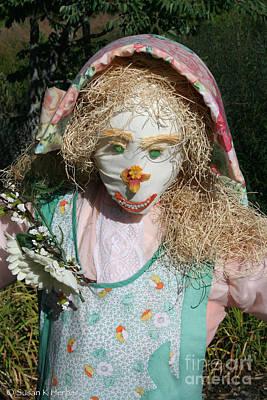 Photograph - Garden Gal by Susan Herber