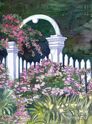 Painting - Garden Gate by Audrey Peaty