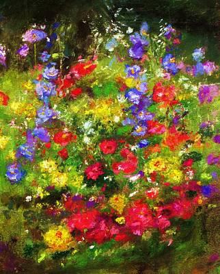 Garden In New Jersey Art Print