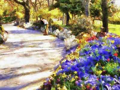 Painting - Garden Kiss by Jai Johnson