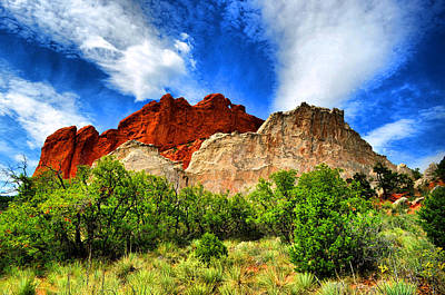 Photograph - Garden Of The Gods 1 by Emily Stauring