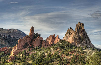 Garden Of The Gods 1 Art Print by Jim Pearson