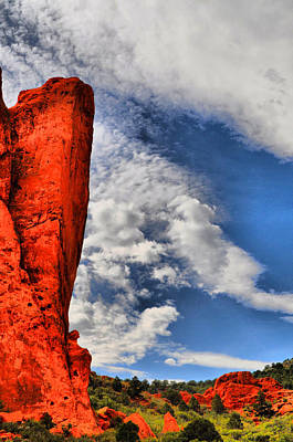 Photograph - Garden Of The Gods 11 by Emily Stauring