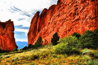 Photograph - Garden Of The Gods 13 by Emily Stauring