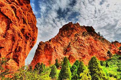 Photograph - Garden Of The Gods 3 by Emily Stauring
