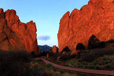 Photograph - Garden Of The Gods Gap by Paul Svensen