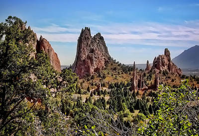 Photograph - Garden Of The Gods by Heather Applegate