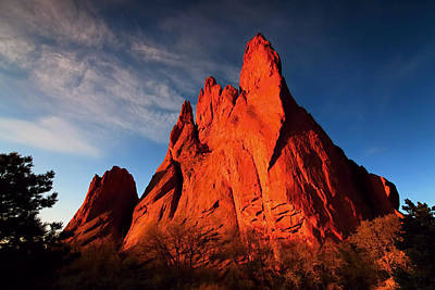 Photograph - Garden Of The Gods Rocks by Paul Svensen