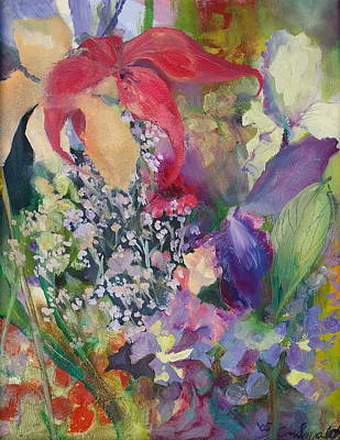 Painting - Garden Party by Claudia Smaletz