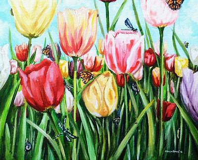 Painting - Garden Party by Shana Rowe Jackson
