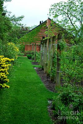 Botanic Photograph - Garden Path I by Nancy Mueller