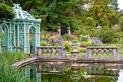 Photograph - Garden Reflections by Cornelis Verwaal