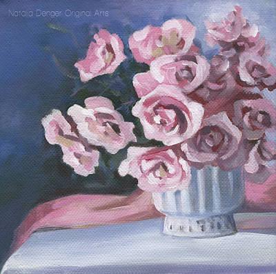 Painting - Garden Roses by Natasha Denger