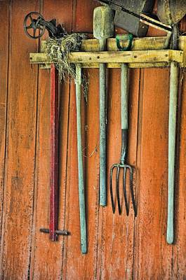 Photograph - Garden Tools by Jan Amiss Photography