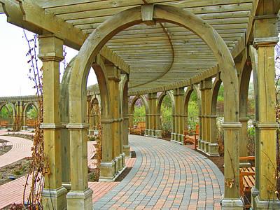 Photograph - Garden Walkway by Tikvah's Hope