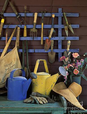 Gardening Tools - Fm000055 Art Print