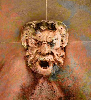 Photograph - Gargoyle by Richard Ortolano