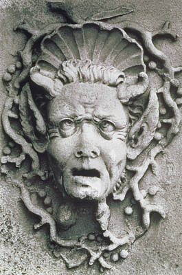Monster Photograph - Gargoyle by Simon Marsden