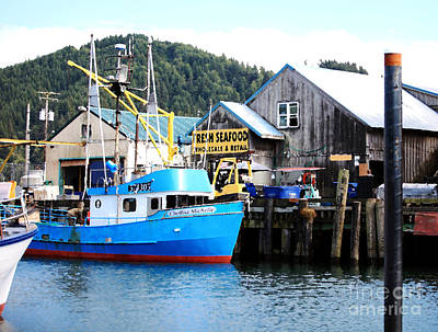 Garibaldi Marina Garibaldi Oregon Art Print