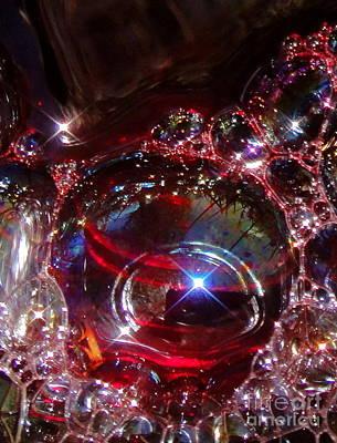 Transparent Photograph - Garnet Star by Nika One