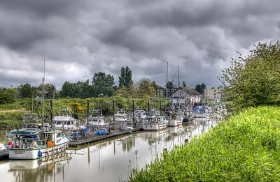 Photograph - Garry Point Slough I by Sandra Sigfusson