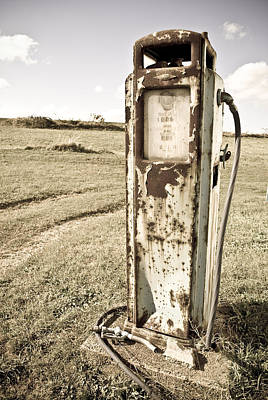 Gas Pump Photograph - Gas Pump #5 by Pittsburgh Photo Company