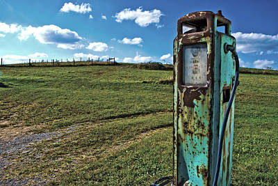 Gas Pump #7 Art Print