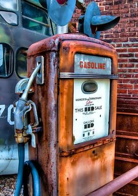 Photograph - Gas Pump by Fred LeBlanc