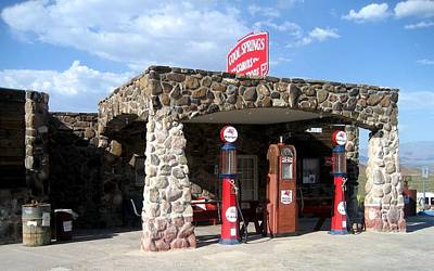 Photograph - Gas Station On Route 66 by Dany Lison