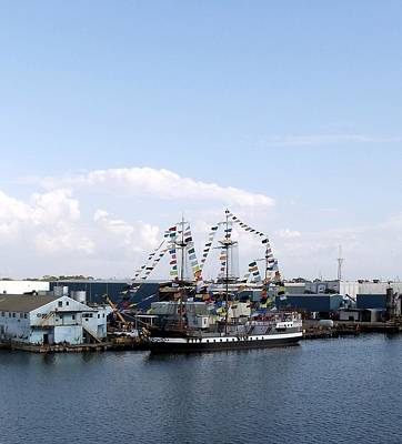 Photograph - Gasparilla Pirate Ship by Riley Geddings
