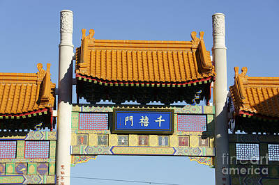 Photograph - Gate To Vancouver Chinatown by John  Mitchell