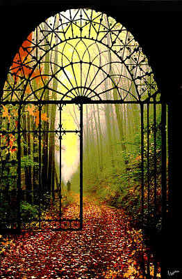 Digital Art - Gates Of Autumn by Igor Zenin