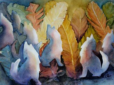 Painting - Gathering by Lori Chase