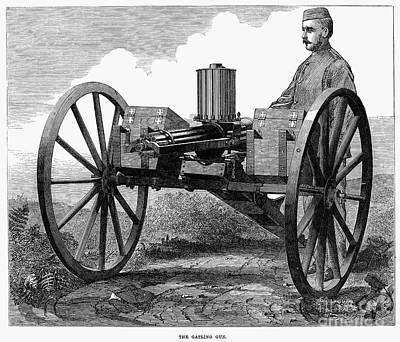 Gatling Gun, 1872 Art Print by Granger