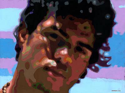 Young Man Painting - Gato by Douglas Simonson