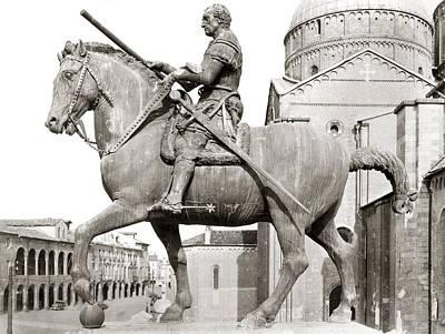 Condottiero Photograph - Gattamelata (1370-1443) by Granger