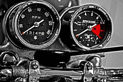 Gauging Speed Print by Tom Gari Gallery-Three-Photography
