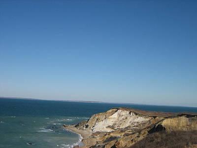 Photograph - Gay Head Cliffs Martha's Vineyard by Melissa Partridge