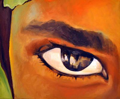 Painting - Gaze by Martina Anagnostou