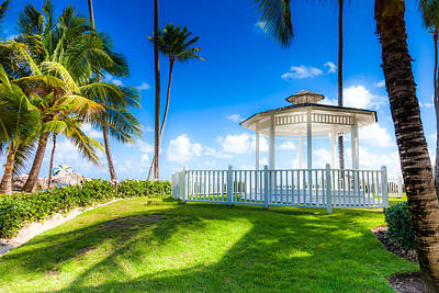 Photograph - Gazebo by Anthony Rego