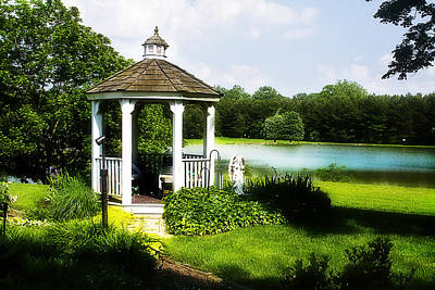 Photograph - Gazebo Beauty by Trudy Wilkerson