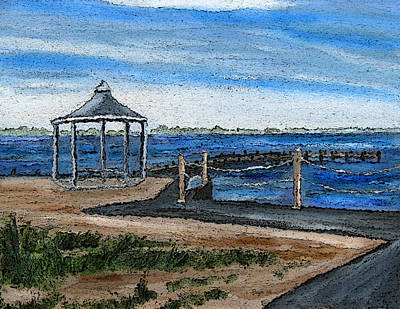 Painting - Gazebo by Clara Sue Beym