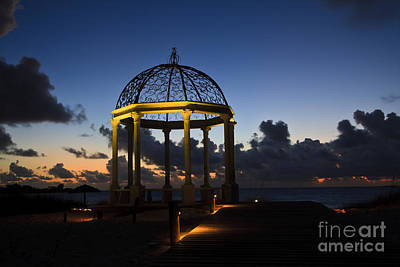 Photograph - Gazebo Dawn by Dennis Hedberg