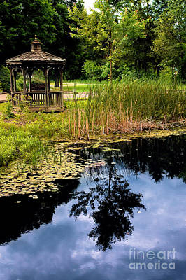 Gazebo Print by HD Connelly