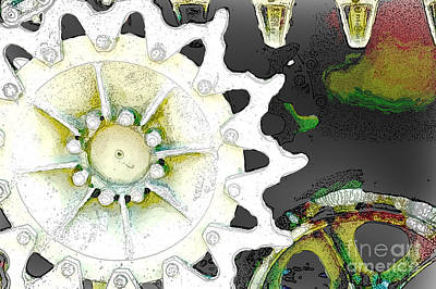 Photograph - Gears 2 by Nancy Greenland