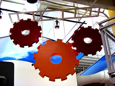 Photograph - Gears Of Learning by Judy Wanamaker